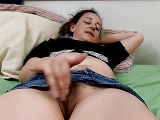 Hot wife masturbating