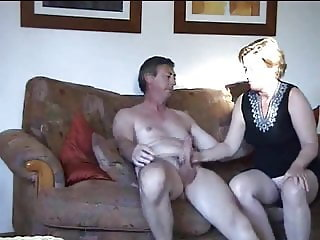 Blowjob & Fun on bed & sofa