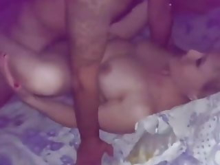 My friend and me fuck my hot wife, she enjoyed