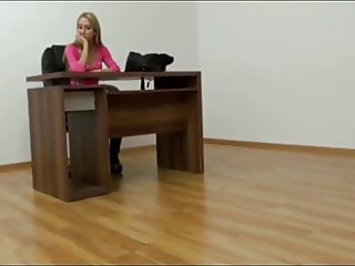 Horny Young Secretary Gets Hot Creampie From Her New Boss