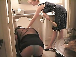 Humiliated Cleaning Sissy