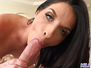 MILF Trip - Hot MILF rides cock and gets facial - Part 2
