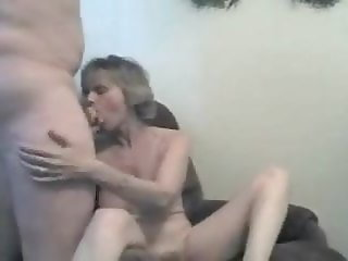 HotWife Swallowing Cum