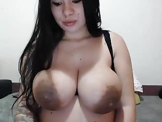 Huge pregnant nipples and boobs!