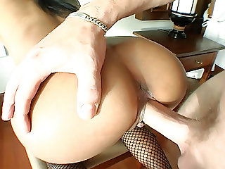 Petite 18yo Thai girl banged by older white guy