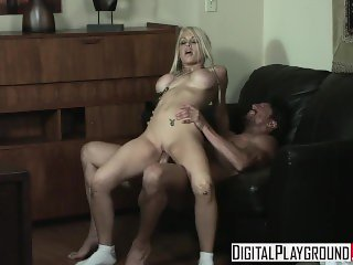 Digital Playground - Blonde schoolgirl Jesse Jane fucks her teacher