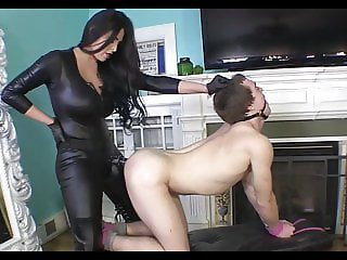 Force Fucking My Neighbour With My Huge Strap-on