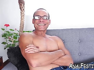 Latina Gaby Garcia analled with monster cock after BJ