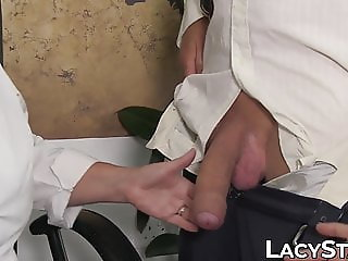 Fourway fucking babe pussy creampie with big cock