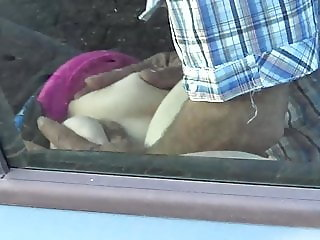 TugaVoyeurPT - Couple fat woman and old man sex in car