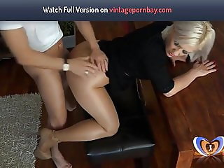 He Fucked His Milf Auntie on table