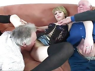 young girl fucked by a group of old men