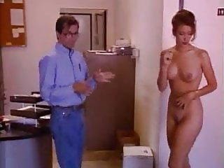 Nude Girl in Office