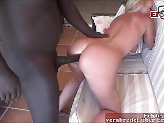 GERMAN AMATEUR BLONDE TEEN SLUT NATURAL TITS ANAL BBC