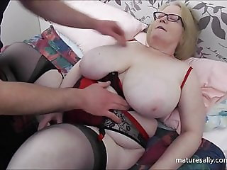 Sally want's real cock