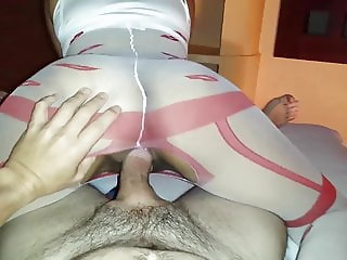 Her Big ass ridding POV style compilation