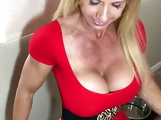Hot Fit Mature With Monster Tits