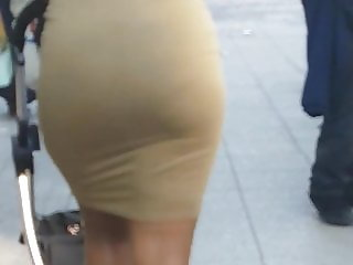 Mrs Johnson! Jiggly Soft Ass Wave Motion Big Candid Booty