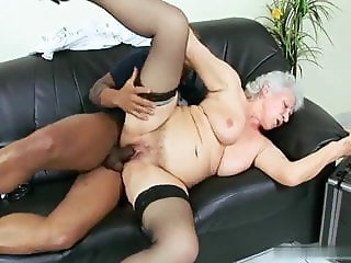 Grandma Norma: cure me with your black fat strong dick