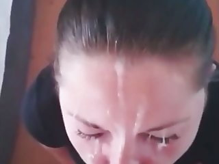 Amateur POV facial compilation 1
