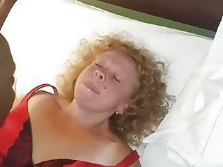 Being  fucked in front of sissy cuckie husband