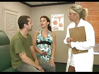 Billy's stepmom takes him to the doctor for a check up