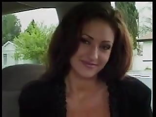 Nakita Kash masturbates and fucks herself in the car