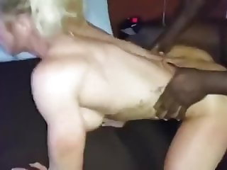 Muscular Cuckold Wife takes a BBC