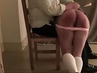 Bully spanked at home