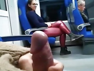 Blowjob on Bus