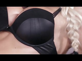 Czech long haired milf moans hard on a young dick