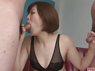 Tomoka Sakurai deals cock with her soft  - More at Pissjp.co