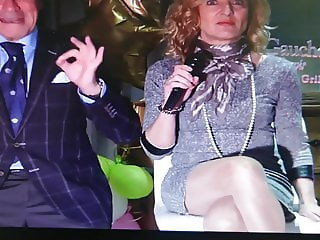 Nylon legs and sexy upskirts.. In TV