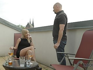 daddy4k, petite, old, teenager, young, dad and daughter, dad