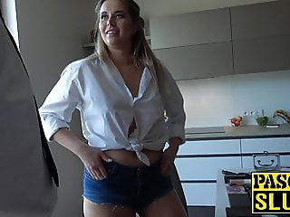 UK dom loves pounding this submissive chick like a slut