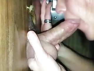 Sexy Wife at the gloryhole