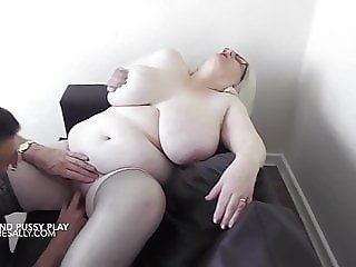 Sally having her pussy fingered