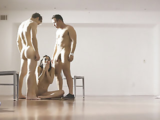 Raw Double Penetration In A Special Facility