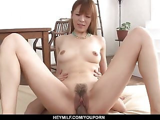 Saori likes the full cocks in her tiny - More at Japanesemam