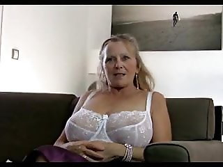 64 Year Old Granny shows her body