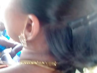 Madurai hot young tamil girl grouped in bus with hot view