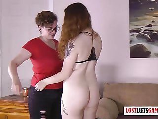 Two Redheads Face off in a Lost Bets Games Memory Challenge