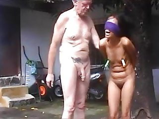 Old daddy and his Thai slave