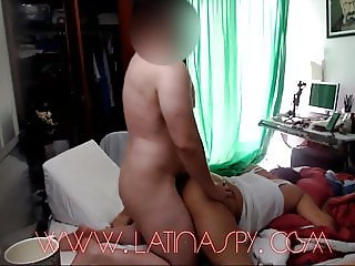black maid with big ass jiggles as she gets pounded