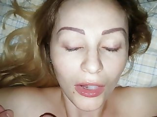 POV Blow Job with swallow
