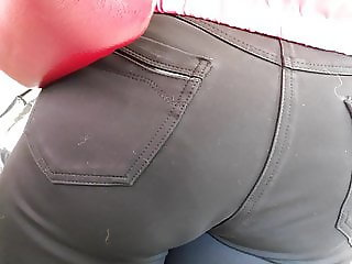 Fat ass mature milfs in tight jeans