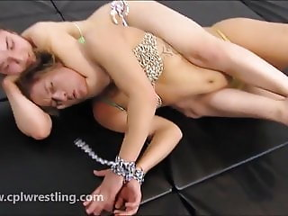 Bellas Tied Victory - Facesitting Humiliation Girl on Girl