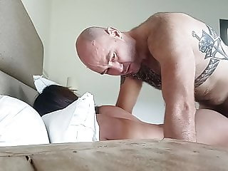 Asian maid pounding her deep as she likes