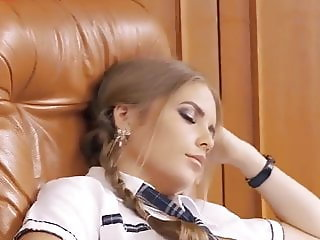 Lustful slut was fucked right in the dean's office