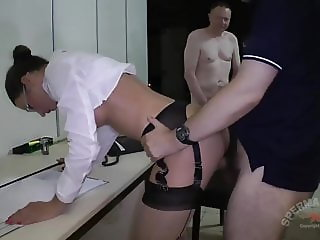 Julie Skyhigh and Anna - Kinky Office Cum Sluts